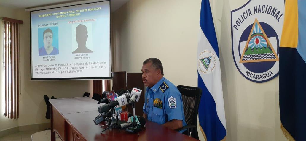 Desarticulan banda delincuencial que operaba en el distrito 6 de Managua
