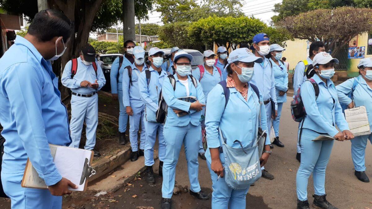 Brigadistas de salud intensifican lucha contra el mosquito Aedes Aegyptis