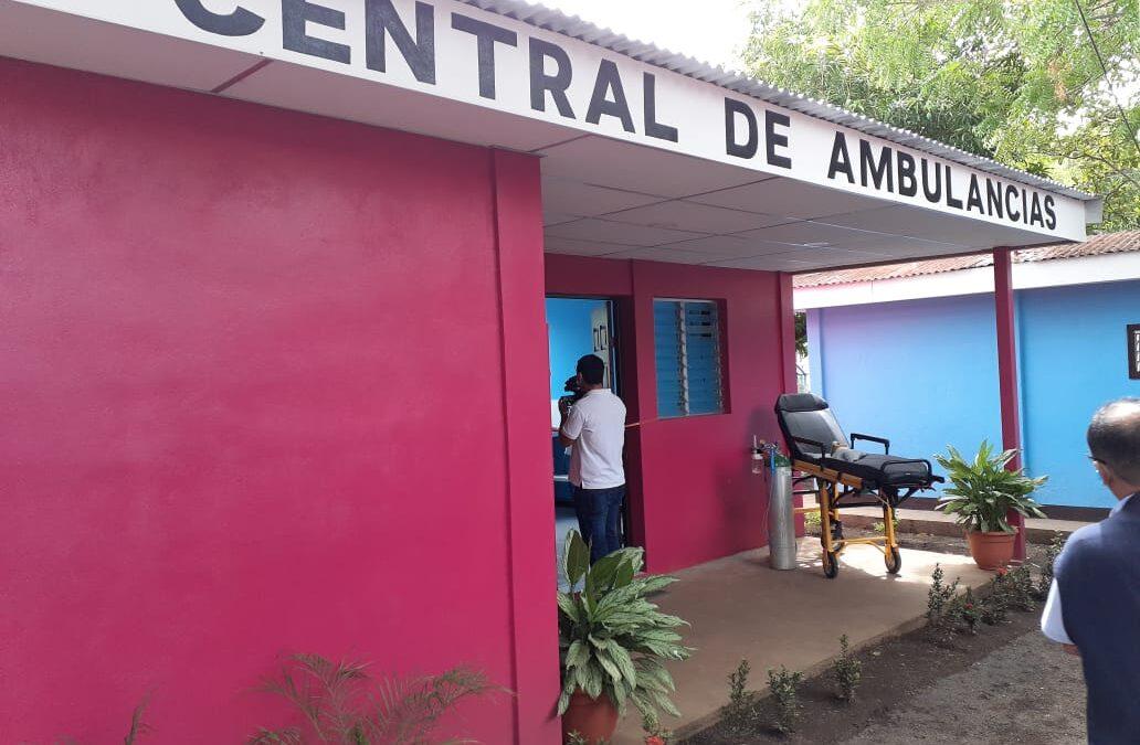 Inauguran otra central de ambulancia en Managua