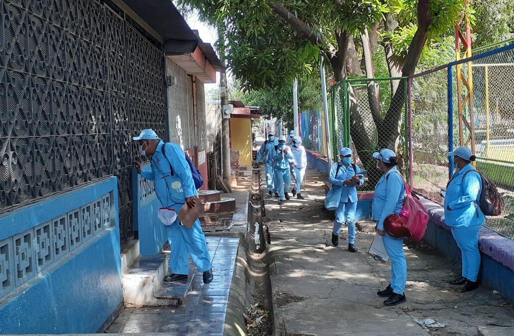 Lucha contra el Dengue, la otra batalla sanitaria en Nicaragua