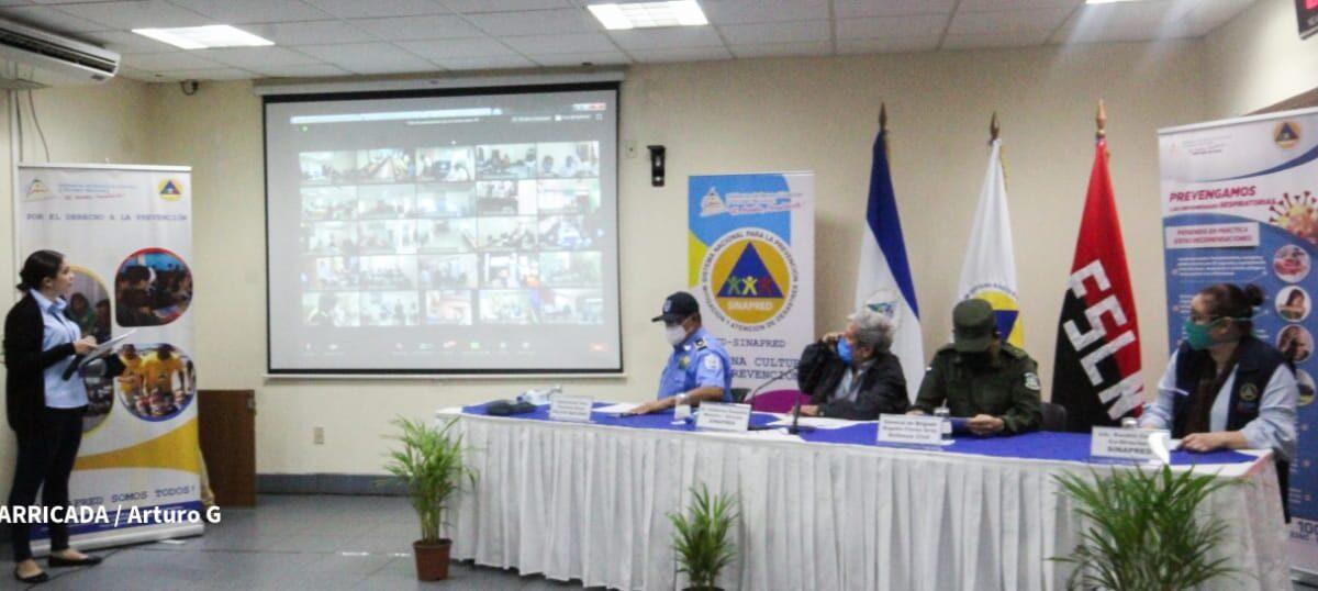 Desarrollan ejercicio nacional virtual de la preparación para la protección de vida