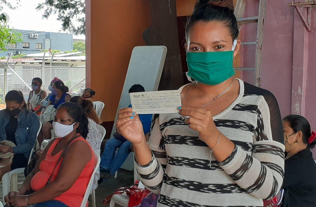 Emprendedores de Managua reciben 500 mil córdobas para sus negocios