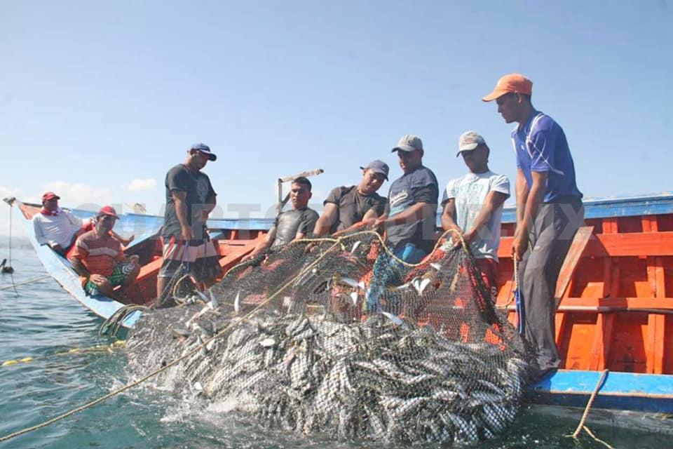 Faenas de pesca se desarrollan sin contratiempos en el Pacífico de Nicaragua