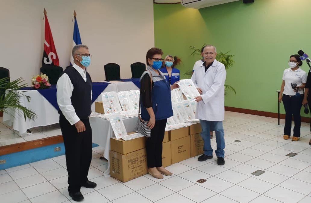 Sistema de Naciones Unidas dona equipos médicos a Nicaragua