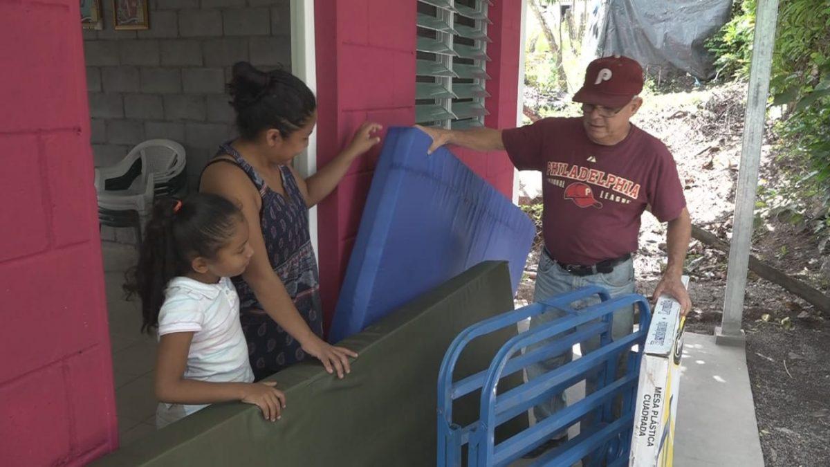 Familias de Boaco reciben complementos de vivienda digna