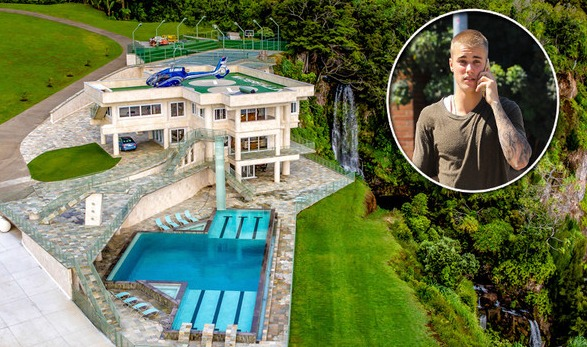 La espectacular casa de vacaciones que alquila Justin Bieber