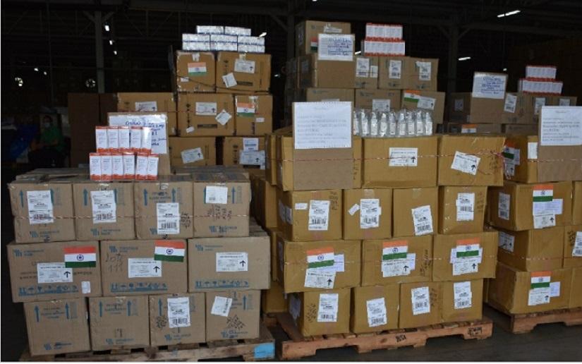 Nicaragua recibe donación de medicamentos del gobierno de la India