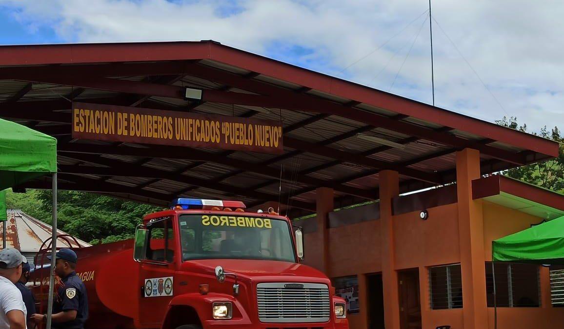 Estaciones de bomberos son una realidad en municipios de Nicaragua
