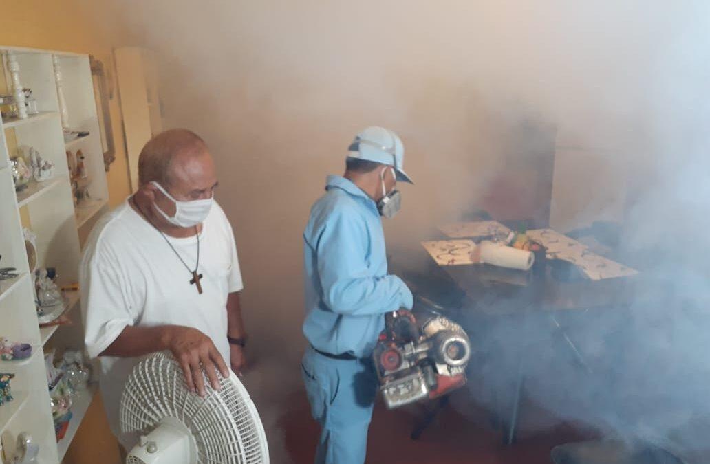 Fumigan y aplican BTI en más barrios de Managua