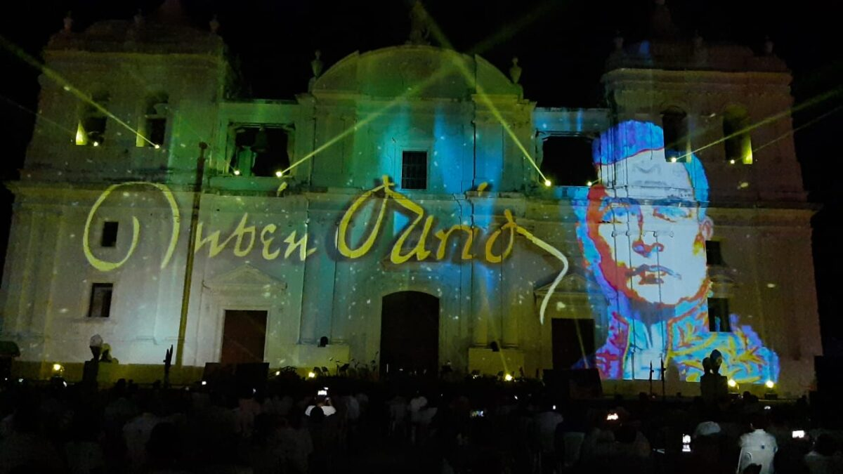 Espectacular festival virtual Azul Darío 2020 en León