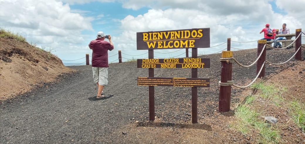 Sendero Nindirí en el Volcán Masaya es uno de los lugares preferidos por visitantes