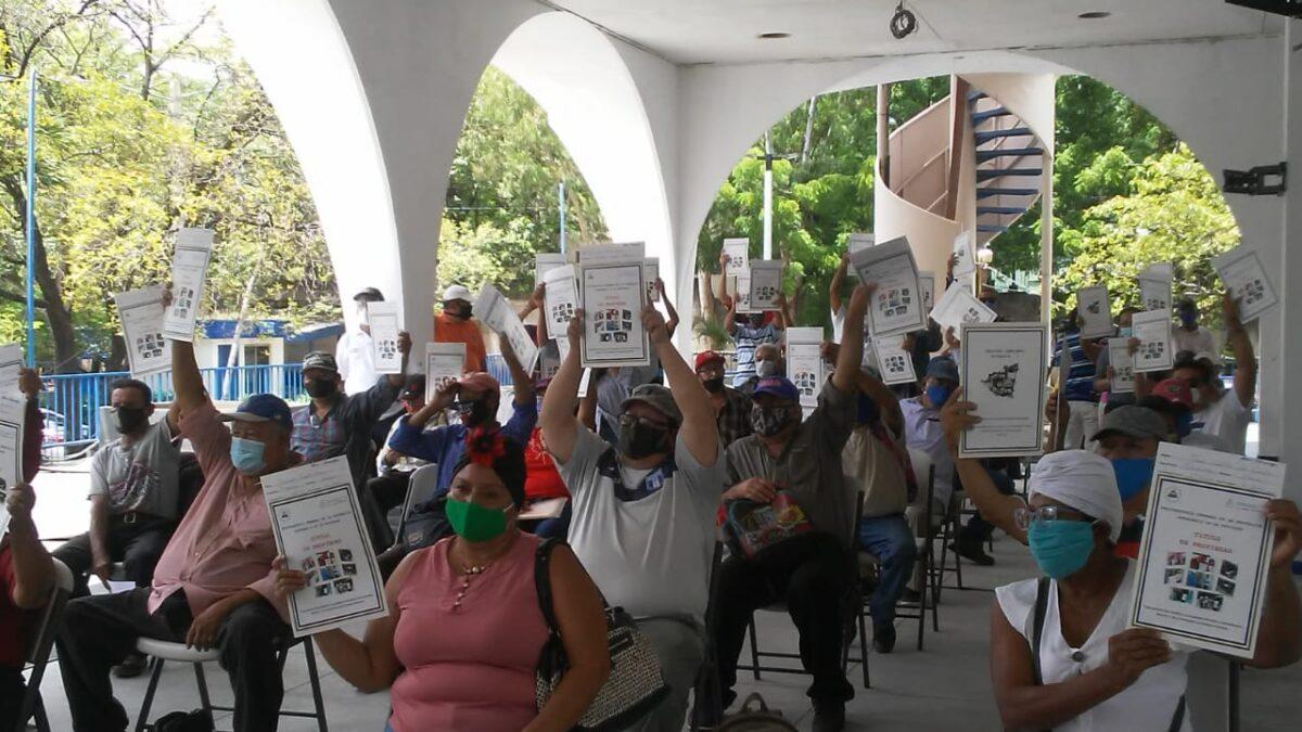 Retirados del Ejercito Popular Sandinista reciben títulos de propiedad