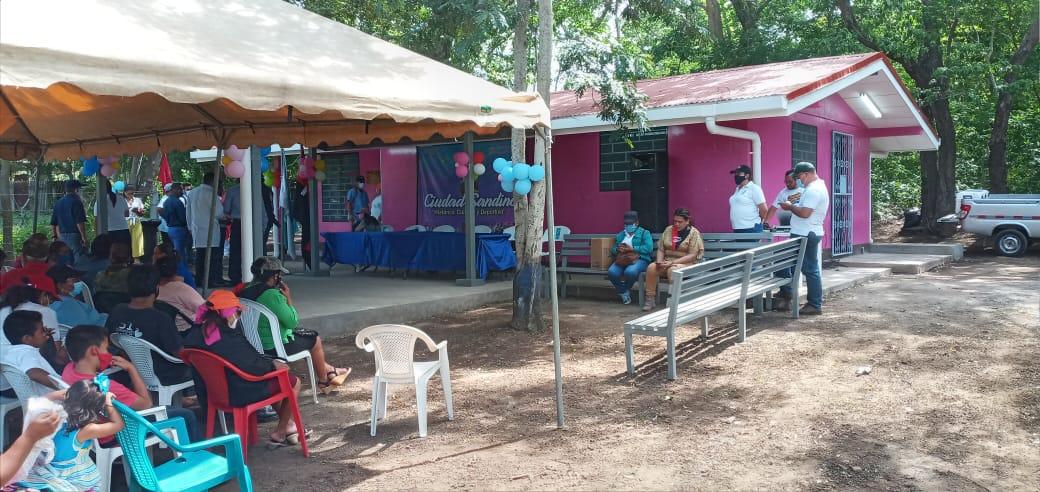 Rehabilitan centro de salud de Cuajachillo número dos en Ciudad Sandino