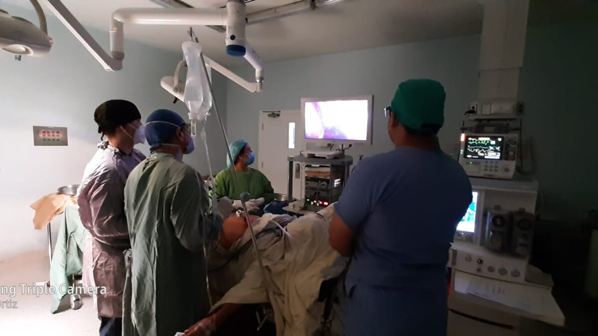 Cirugías gratuitas de hernia y vesícula en el Hospital Manolo Morales