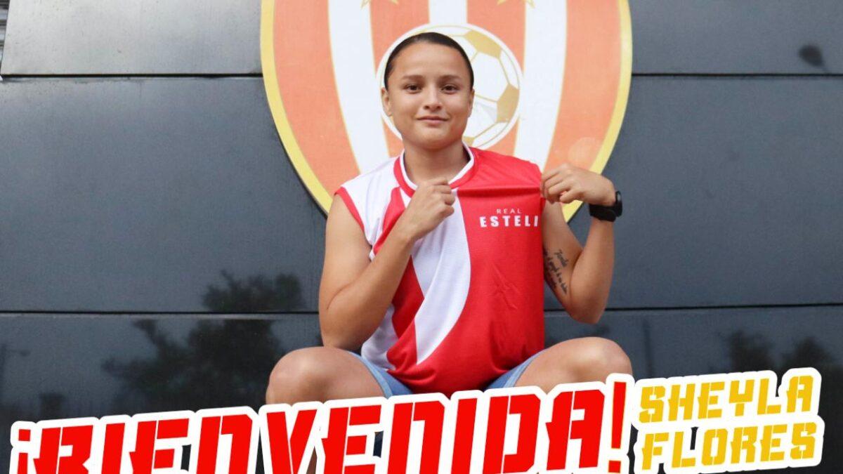 Sheyla Flores jugará con el Real Estelí femenino