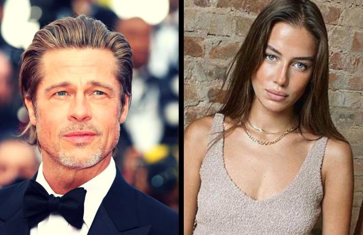 Confirman que Brad Pitt y Nicole Poturalski mantienen una relación sentimental
