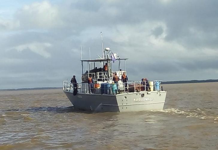 Fuerza Naval de Nicaragua mantiene búsqueda de marineros extraviados en Cayos Perlas