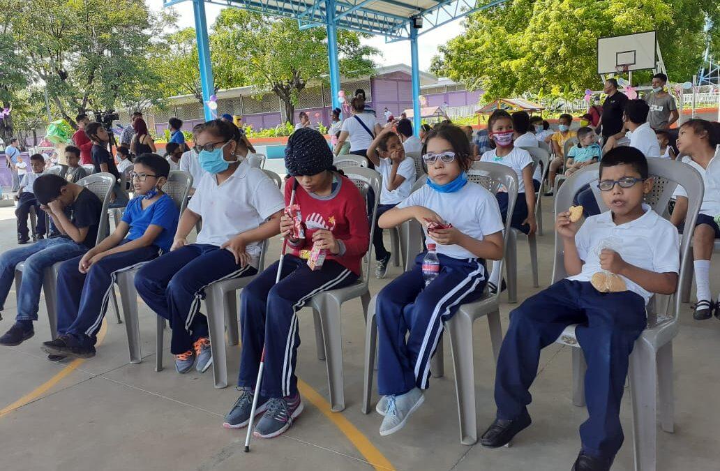 Estudiantes celebran Día de las Personas con Discapacidad