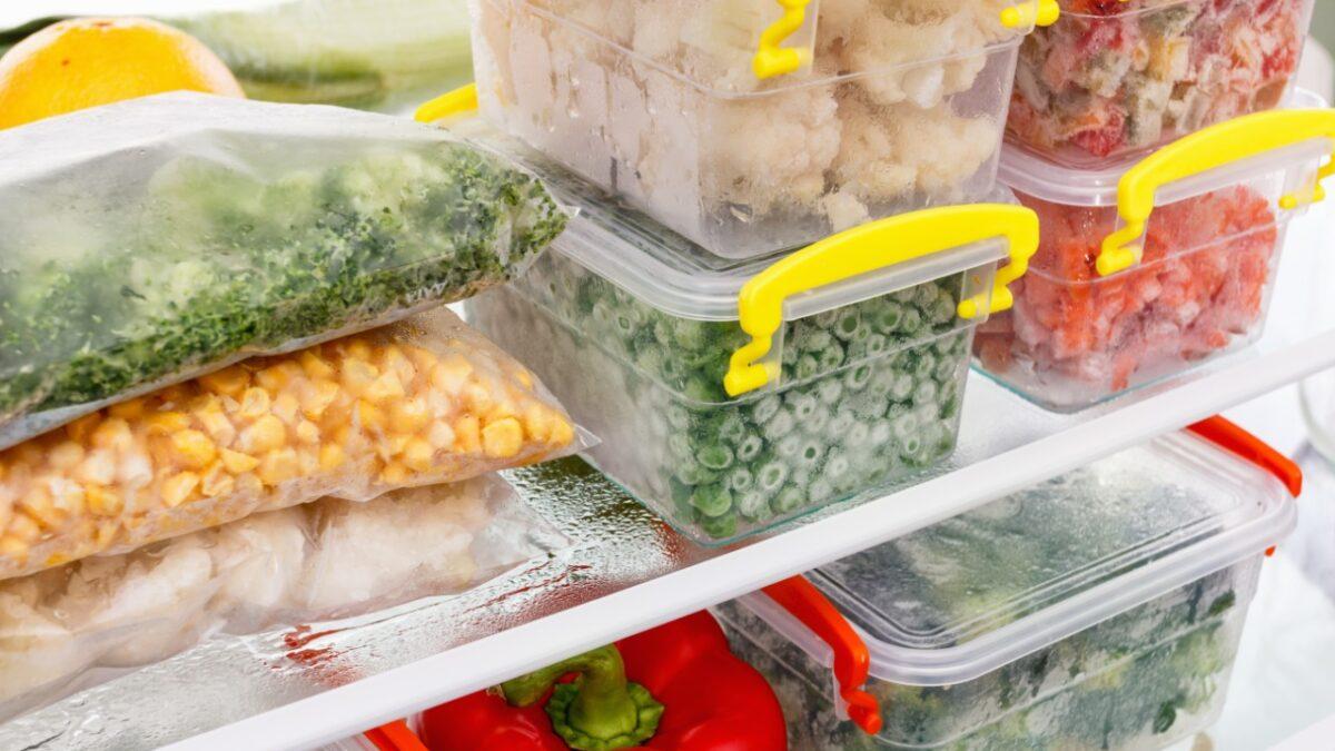 Cómo almacenar alimentos adecuadamente