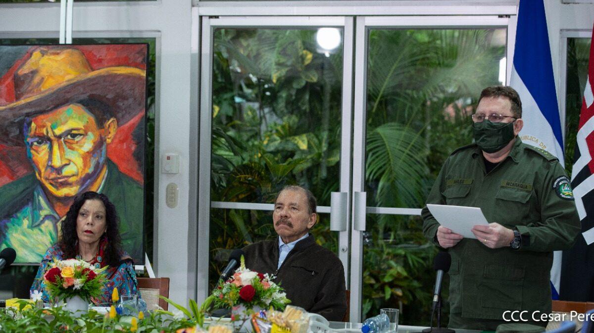 Nicaragua y su cuerpo médico militar frente a la pandemia de la COVID-19