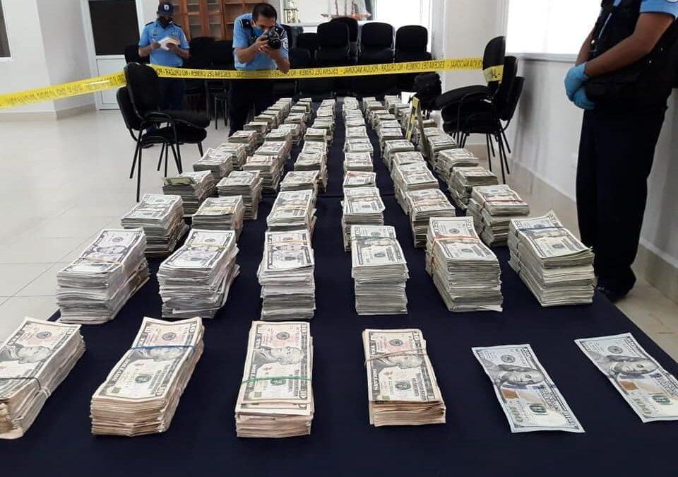 Más de 700 mil dólares incauta Policía de Nicaragua