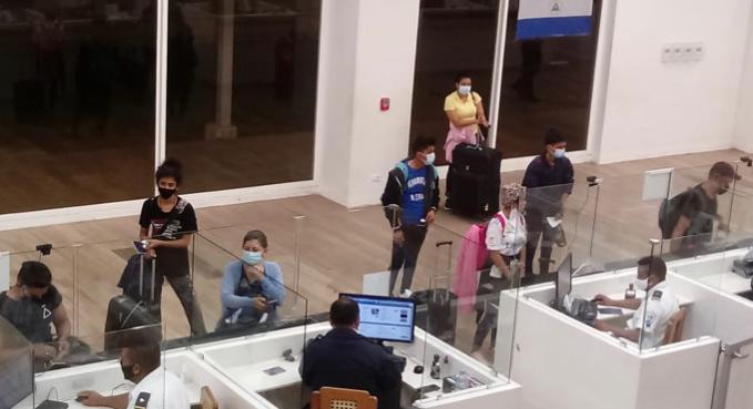 256 nicaragüenses radicados en Panamá volvieron a suelo patrio