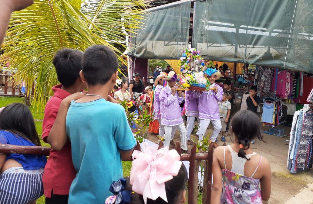 Alegres fiestas a Santo Domingo de Guzmán en el Parque Nacional de Ferias