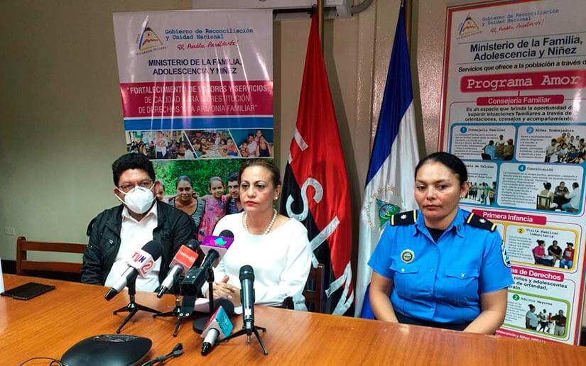 Nicaragua convocará a reunión a los directores de los centros privados de protección especial