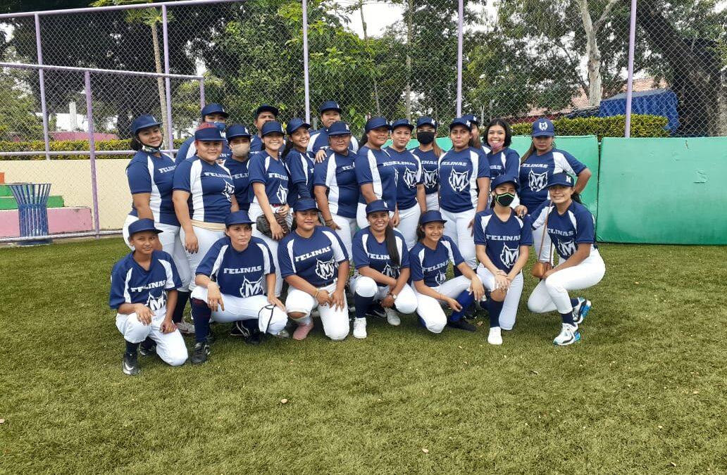 Liga de Softboll femenino, Mujeres en Victoria, se desarrolla en Managua, Nicaragua