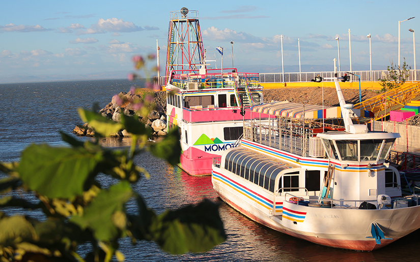 Navegue El Lago Xolotlán en el Momotombito a precios módicos