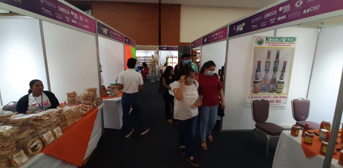 Inauguran tercera edición de Expopyme Nicaragua