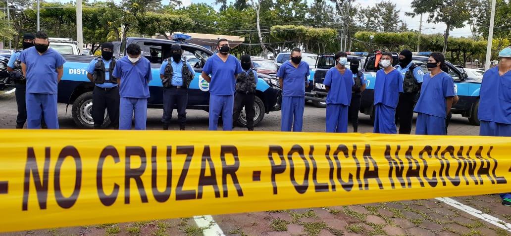 Desarticulan a dos grupos delincuenciales en el distrito 1 de Managua