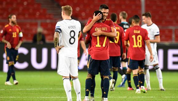 España igualó 1-1 ante Alemania en el arranque de la Liga de Naciones de la Uefa