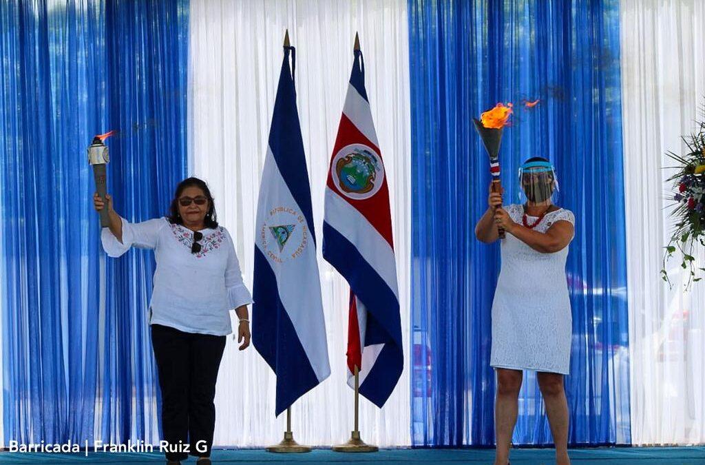 Nicaragua despide Antorcha de la Libertad Centroamericana