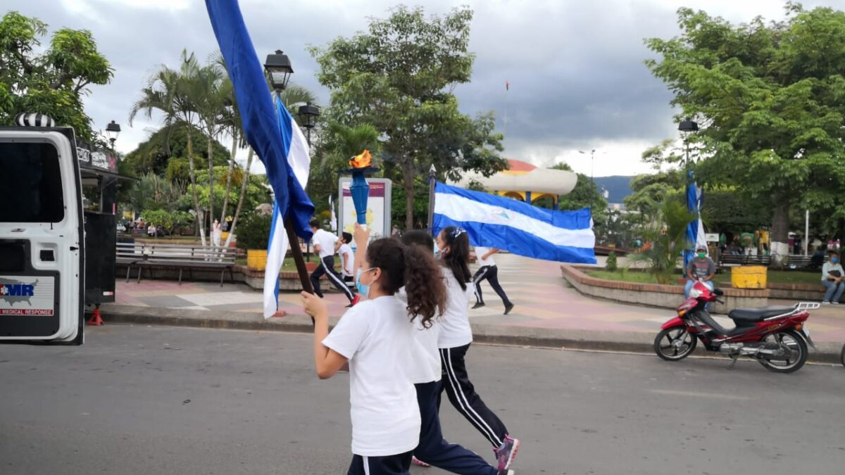 Antorcha de la Libertad en Estelí