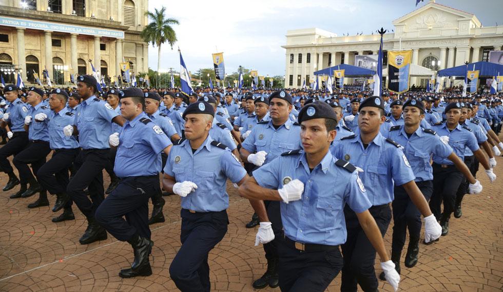 Ascenderán a más de mil policías en Nicaragua
