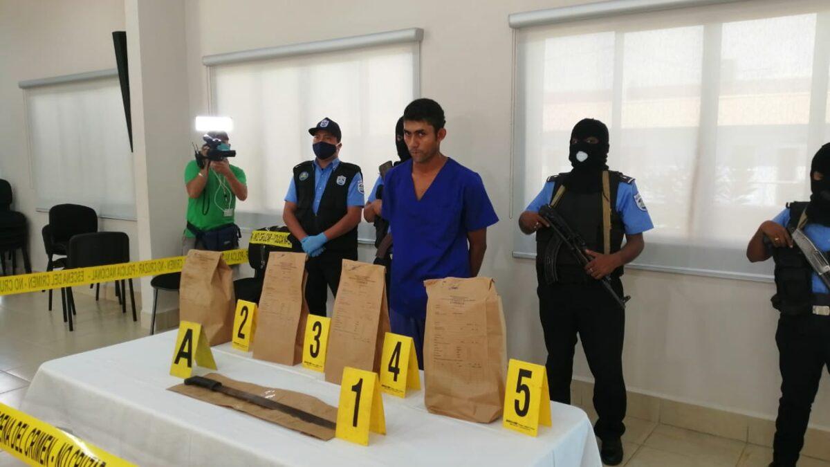 Presentan al asesino de 2 niñas en Mulukukú