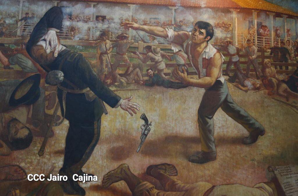 Nicaragüenses conmemoran 164 años de la batalla de San Jacinto