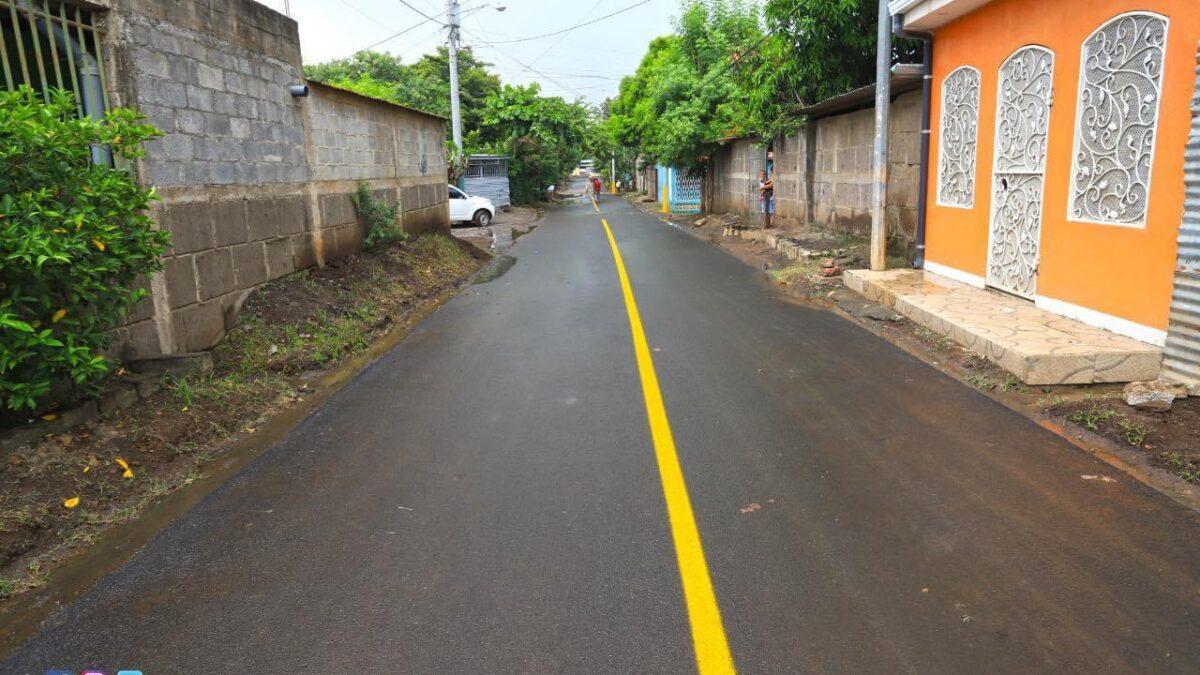 Municipios del país inauguran esta semana 34 calles nuevas en zonas urbanas y rurales