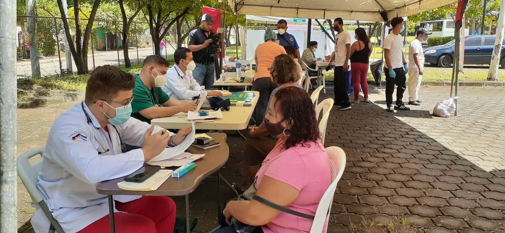 Pobladores de Ciudad Belén aprovechan Jornada de Salud Comunitaria