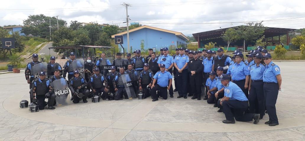 Culmina curso de intervención policial para jefes de delegaciones municipales