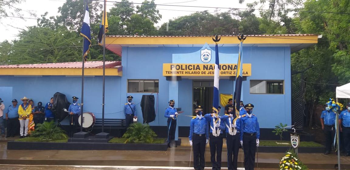 Santaroseños estrenan delegación policial «Tnte hilario de Jesús Ortiz Zavala».