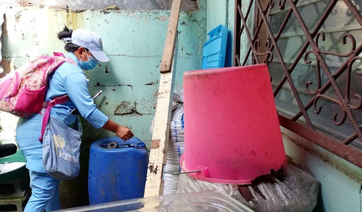 Abrir las puertas a la fumigación evita el Dengue