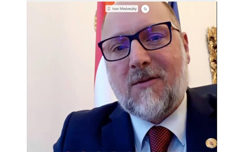 Embajador de Hungría recibe máxima distinción del gobierno de Nicaragua