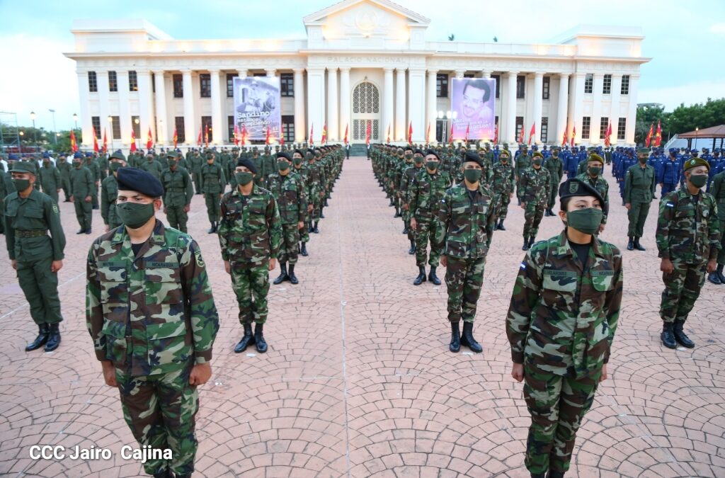 Nicaragua cuenta con un ejército que defiende a su pueblo