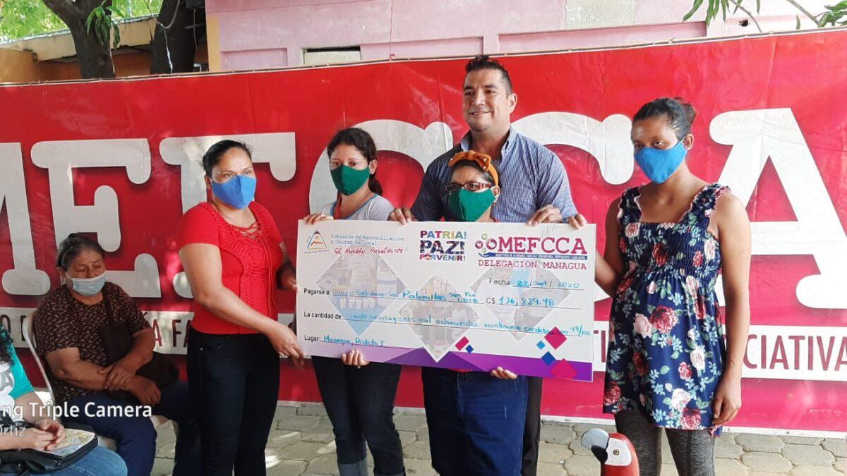 Emprendedores de Managua han recibido 11 millones de córdobas en microcréditos
