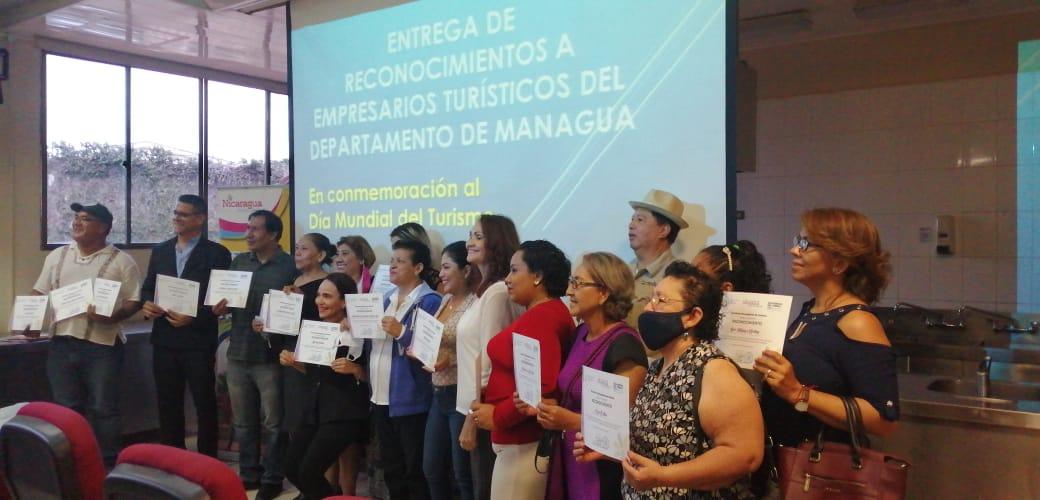 Reconocen labor de empresarios turísticos de Managua
