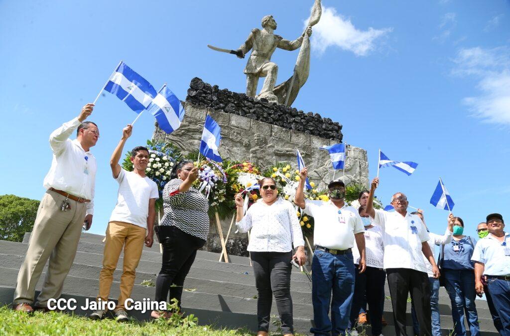 Autoridades Ministeriales recorren la Hacienda San Jacinto en saludo a las fiestas patrias