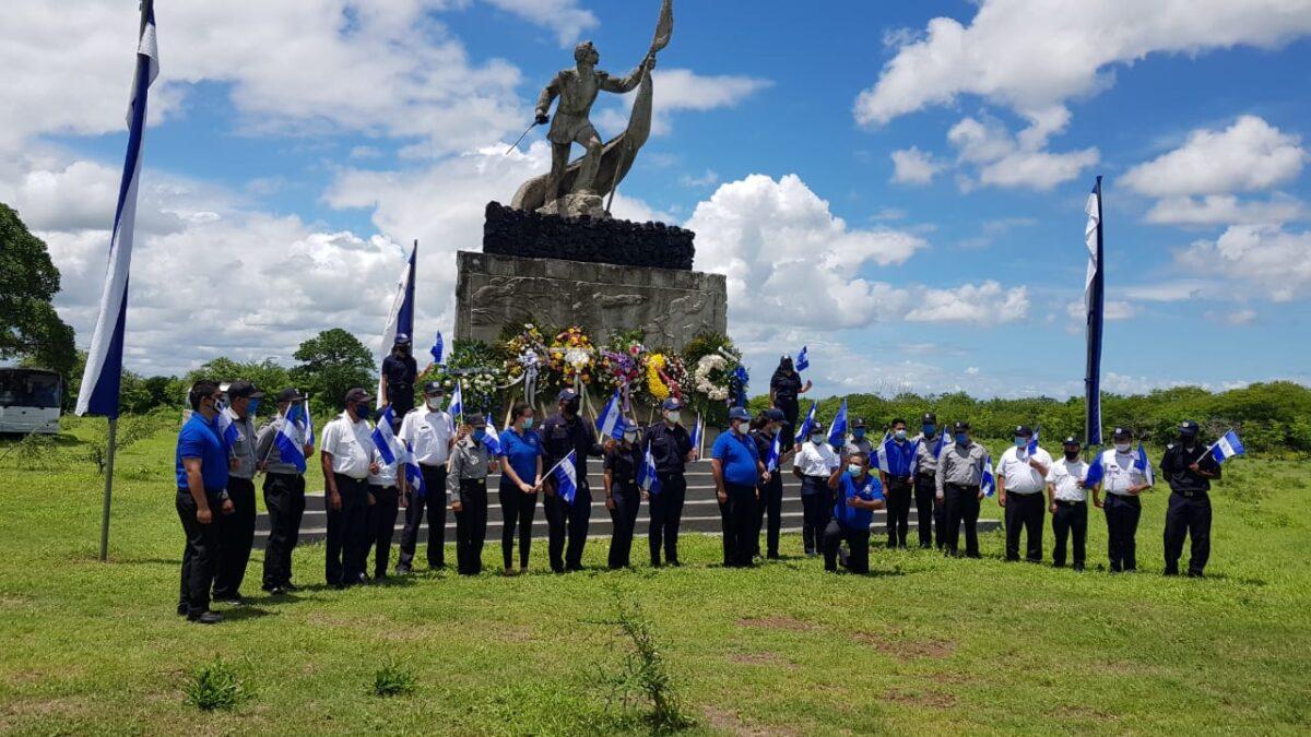 Continúan honores a los héroes de la Batalla de San Jacinto