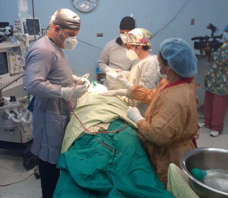 Realizan cirugías nasales gratuitas en hospital Manolo Morales